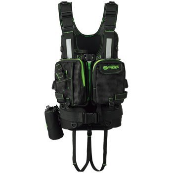 Bidirection 8659 RBB Wading Vest LIMITED Black × Lime