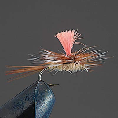 Valleyhill Complete Dry Fry COMPLETE FLY D8 March Brown Parachute