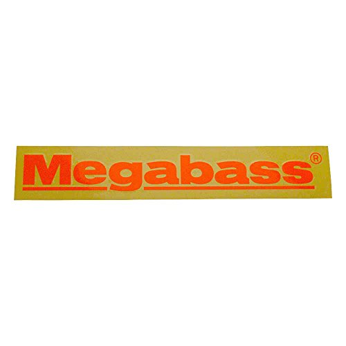 Megabass sticker Megabass 40 cm Orange