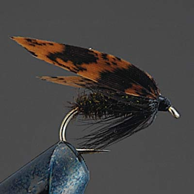 Valleyhill finished product wet fly COMPLETE FLY W4 alder