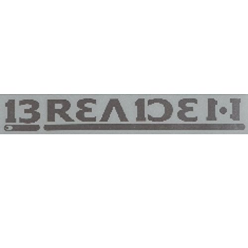 Breeden decal BREADEN 900 W 03 silver