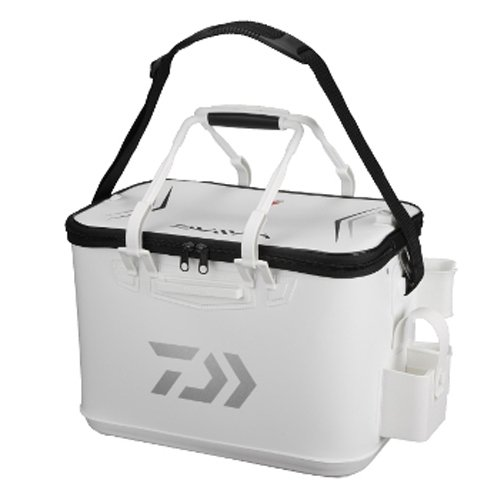 Daiwa provider keeper backpack FD 45-D white black