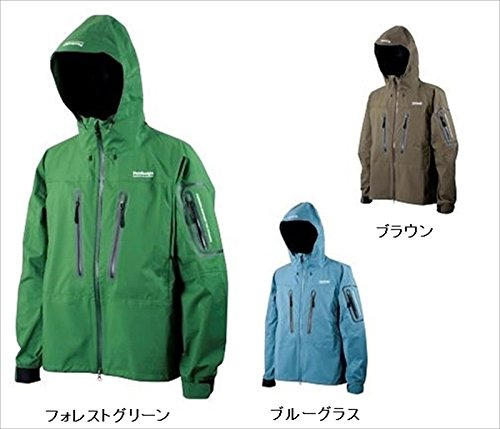 Pazdesign ZBR-006 BS Trout Rain Jacket L Forest Green
