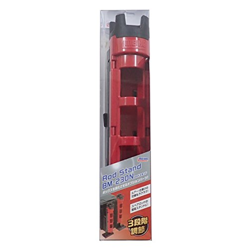 Meiji Chemical Industry Rod Stand BM-230 (Red × Black)