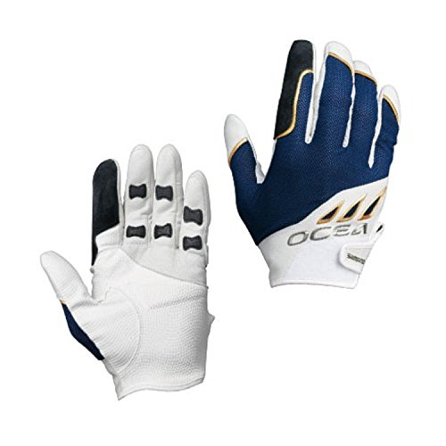 Shimano OCEA Big Game Support Glove GL-292Q White Navy XL