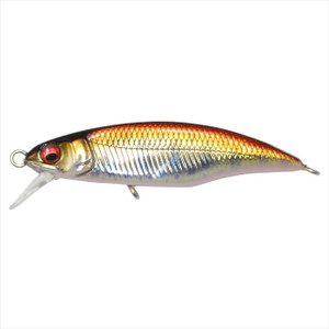 Megabass Great Hunting 45 Flat Side (F) M Red Keiryu