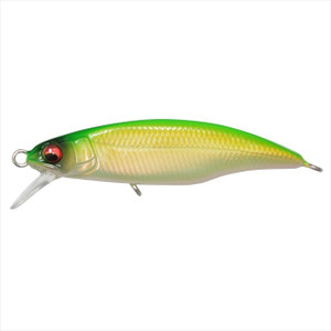 Megabass Great Hunting 45 Flat Side (FS) Ghost Pearl Lime