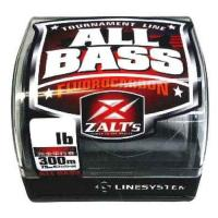 Line system ALL BASS Fluorocarbon 8LB 300m