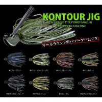 Deps Con Tour Jig 3/8 oz # 03 Pumpkin Purple