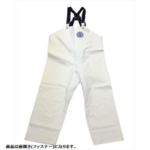 Crafter Rainwear chest pants Pull-out front 5L white
