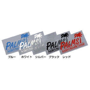 Palms Transcription Sticker / Red