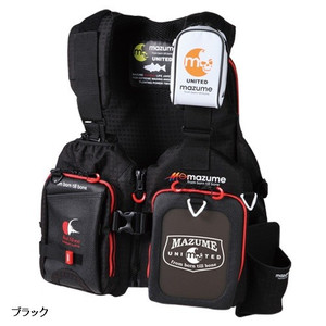 mazume (Mazume) Red Moon Life Jacket Rock Shore SP Black