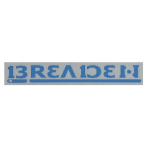 Breeden decal BREADEN 470 W 02 navy