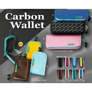 Rodeo craft carbon wallet tateling blue (enamel) / sky blue
