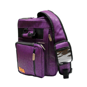 Siegel Safari Shoulder Bag Purple