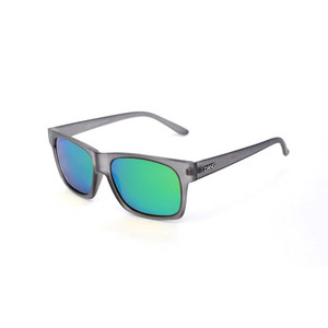 GRASSER Gloss Clear Gray x Green Mirror Polarized