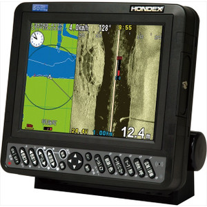 Hondex 8.4 type color liquid crystal GPS plotter side scan sonar (for bus) HE-830 si-Bo