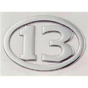 Breeden 3D decal 13 oval