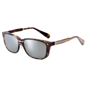 ZEAL (GIRL) F-1543 Capli Brown Demi / Gold TRUEVIEW FOCUS / SILVER MIRROR