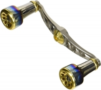 LIVRE Full Comp Crank 100 Shimano Right handle (Titanium P+Grade G)