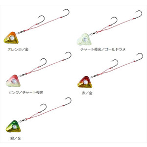 Daiwa red tongue floating Tenya + SS 12 chart night light / gold lame