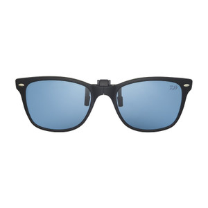 Daiwa DQ-8047 Folding polarized clip-on grass gray / matte black