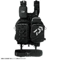 Daiwa DF-6109 Bench Cool Game Vest IV Black x White Free