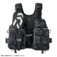 Daiwa DF-6206 Float game Vest Black duck free