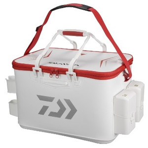 Daiwa provider keeper backpack FD 45-D white red