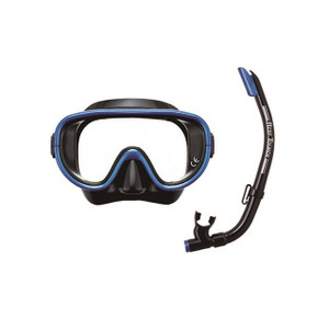 Tabata snorkeling 2 piece set for adults RC 0103 black manta blue
