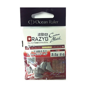 Fishing OR OR Crazing Wave Custom model 3.5 g-# 6