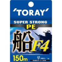 Toray Super Strong PE ship F4 3.0 No. 150 m