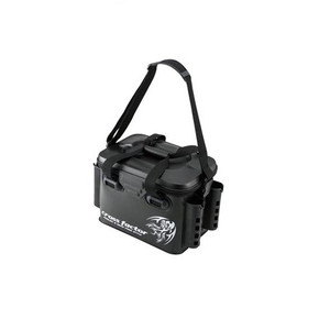 Cross Factor AEK 905 Tackle Bag with Rod Stand 36 cm Black