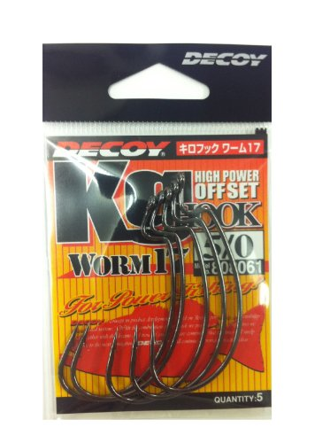 Decoy Kilo Hook  Worm 17 Kg Hook Worm 17 5/0