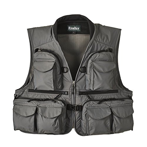 Bifurcated RV Keiryu Guide Vest 5294 LL Gray