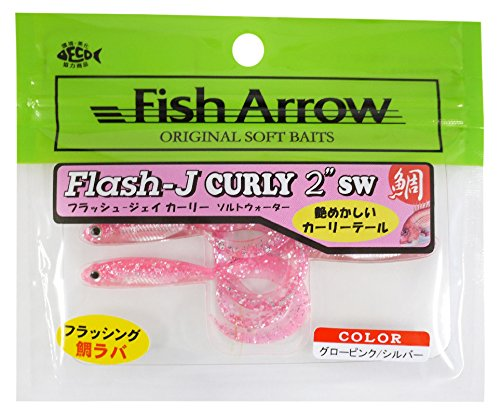 Fish Arrow Flash J Jacket 2 inch # 117 Glow Pink / Silver