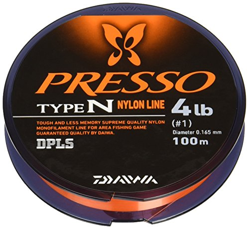 Daiwa Press Lines TYPE-N 100 m Presso LINE TYPE-NYLON 2.5 LB