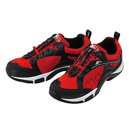 mazume (Mazume) ROUGH WATER deck shoes red L