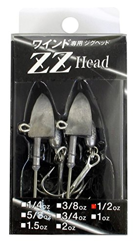 Onsuckle ZZ head 1/2 oz ST standard (lead solid) (with hook)