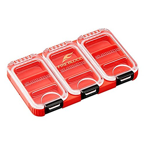 Shimano staff case 90 FB CS-103 Q red 3 frames