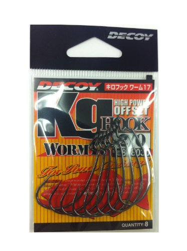 Decoy Kilo Hook  Worm 17 Kg Hook Worm 17 2/0