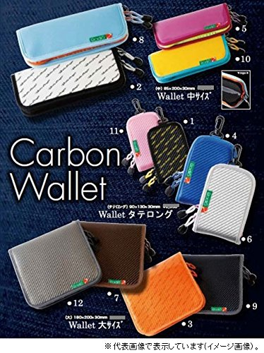Rodeo craft Carbon wallet Tataraging gunmeta blue