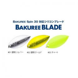 Madness Japan Bakury Blade 42 mm # 01 Silver Silver Silver