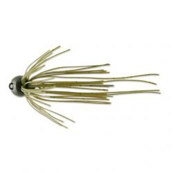 Deps slip head jig 3/16 oz # 07 green pumpkin seed