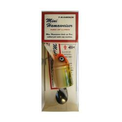 TH Tackle Mini Hammer Weiser # 6 Rainbow Frog