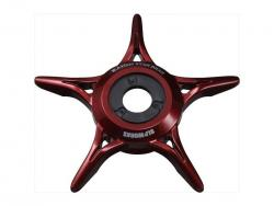 SLP Works SLPW Screwless The Ion Star Drag / RD Red