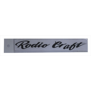 Rodeo craft real carbon sticker inside black