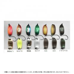 Anglers System Donna 1.5 g blue green silver 1091 color