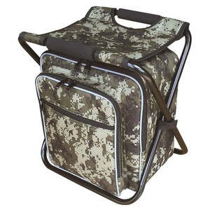 Cooler back chair Gray camo