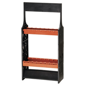 OGK Color rod stand (for 16) Black / Coral Orange